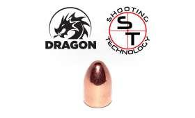 Ogives SHOOTING TECH Dragon cal 9mm (.356) RN 124gr/500