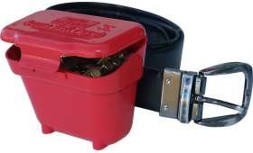 Boîte à Munitions MTM Ceinture ou CLIP cal .22 LR Rouge