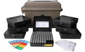 Kit complet MTM - Valise + 7 boites de 100 Cartouches CAL 45