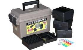 Kit complet MTM - Valise + 4 boites de 100 Cartouches CAL 223