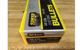 Ogives SPEER Calibre 38 - 158gr - .358 SWC