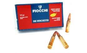 Boite de 20 Cartouches Fiocchi 308 FMJ 147 gr