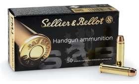 Boîte de 50 cartouches Sellier Bellot 357 MAG - 158 gr - FMJ
