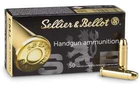 Boîte de 50 cartouches Sellier Bellot 38 SPECIAL - 158 gr FMJ