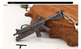 Porte Clé Fusil d'assault M16 avec lance grenade