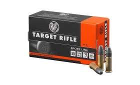 Boite de 50 munitions RWS Target Rifle Sport Line .22 LR