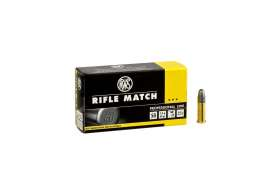 Boite de 50 munitions RWS Rifle Match Professional Line .22 LR