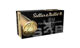 Boîte de 50 cartouches Sellier Bellot 38 SPECIAL - 148 gr WAD CUTTER