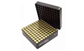 Jauge de cartouches pré-rangement dans boite MTM calibre 9 mm
