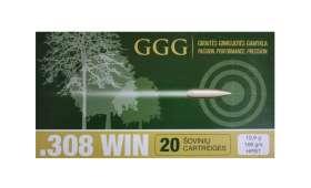 Boite de 20 cartouches 308 Win. HPBT Match 168gr - GGG