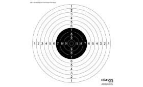 Cible de précision ISSF EEMANN TECH Pistolet 25 et 50 M
