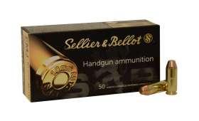 Boite de 50 cartouches Sellier Bellot 10mm AUTO 180grs - FLAT NOSE