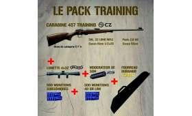 PACK Carabine CZ 457 TRAINING
