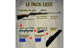 PACK Carabine CZ 457 LUXE