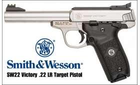 Pistolet Smith & Wesson SW22 Victory .22 LR CANON FILETE