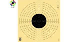 Paquet de 250 cibles Pistolet 10 mètres noir 170 x 170 - ISSF