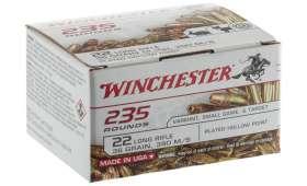 Boite de 235 cartouches 22LR WINCHESTER SUPER X 36 GR LHP COPPER
