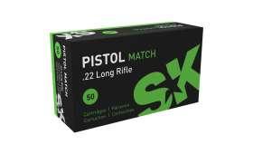Boite de 50 Cartouches 22LR 40gr SK PISTOL MATCH