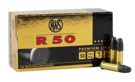 Boite de 50 cartouches RWS R50 PREMIUM LINE Cal .22LR 40gr