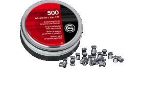 Boite de 500 plombs GECO 4,5mm DIABLO 0,45g