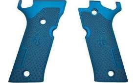 Plaquettes Aluminium Bleu BERETTA 92X Performance