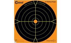 Paquet de 100 Cibles 30cm Autocollante Bullseye CALDWELL Orange Peel