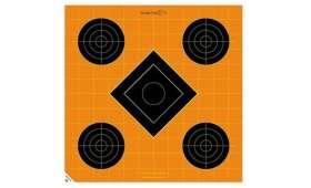 Cible 30cm Autocollante Sight-In CALDWELL Orange Peel x5