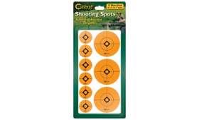 Cibles Pastilles Rondes Oranges CALDWELL 25 mm & 50 mm 12 Planches