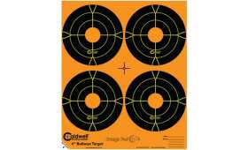 Cible 10cm Autocollante Bullseye CALDWELL Orange Peel x10