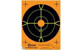 Cible 14cm Autocollante Bullseye CALDWELL Orange Peel x10