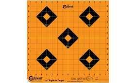 Cible 40cm Autocollante CALDWELL Orange Peel Sight-In x5