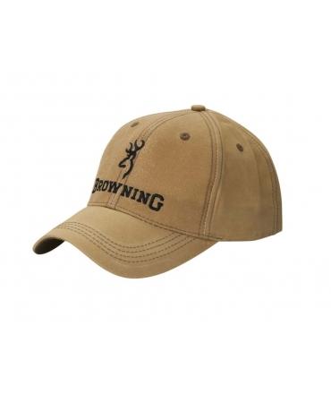 Casquette Browning Lite Wax kaki